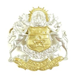 Calgary Regiment Cap Badge
