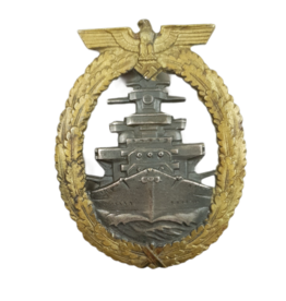 Kriegsmarine Flotten-Kriegsabzeichen (High Sea Fleet Badge).