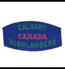 Calg. Highlanders Embleem