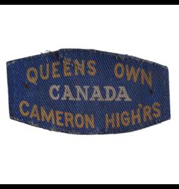Queen's Own Cameron Highlanders