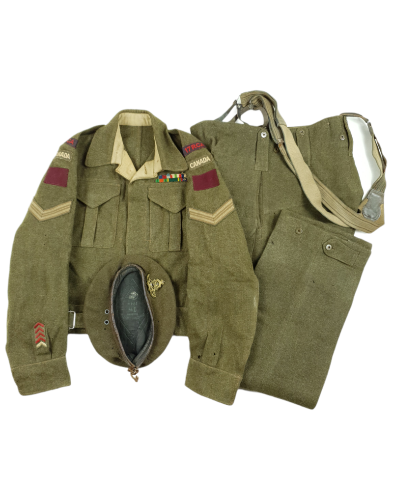 17th Field Regiment RCA - Battle Dress Grouping