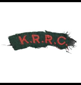 KRRC Shoulder Title