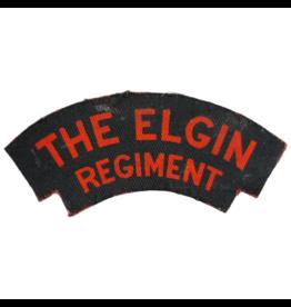 Elgin Regiment Shoulder Flash