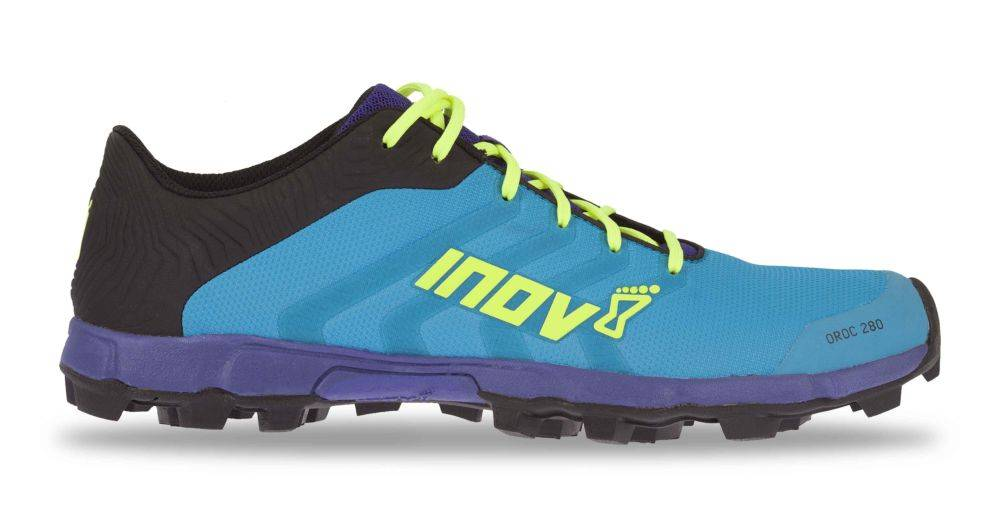 Inov-8 OROC 280 - Men's - BLUE/PURPLE/YELLOW - EU42.5 / UK8.5