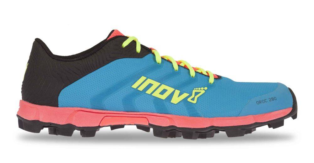 Inov-8 OROC 280 - Women's - BLUE/PINK/YELLOW - EU40 / UK6.5