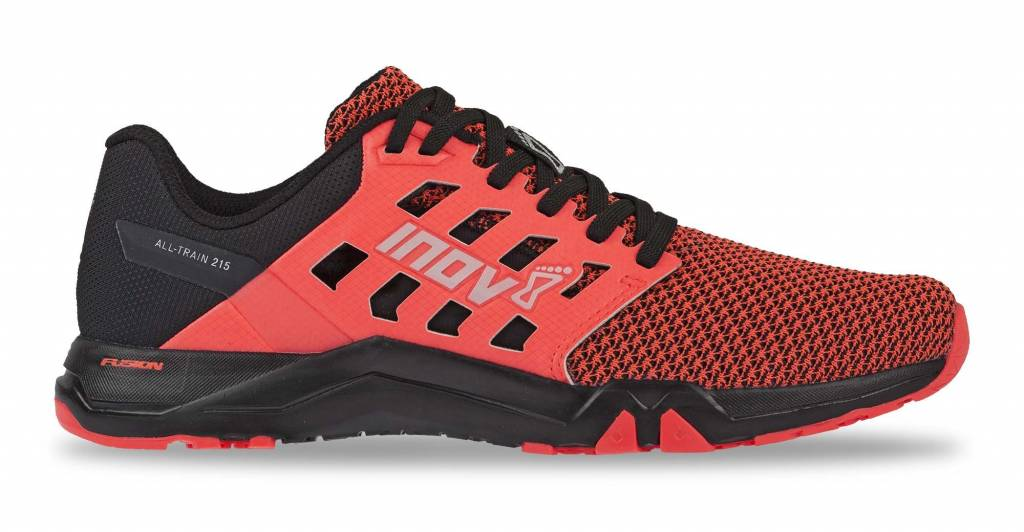 Inov-8 ALL TRAIN 215 KNIT - Women's - BLACK/PINK - EU38 / UK5