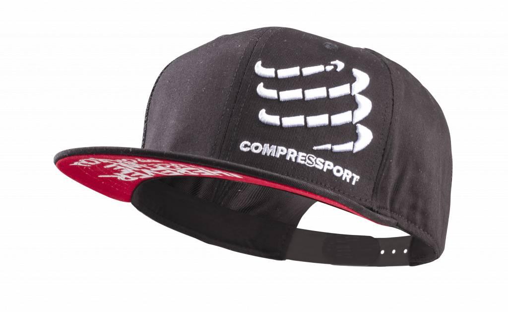 Compressport Flat Cap - BLACK - Uniq Size