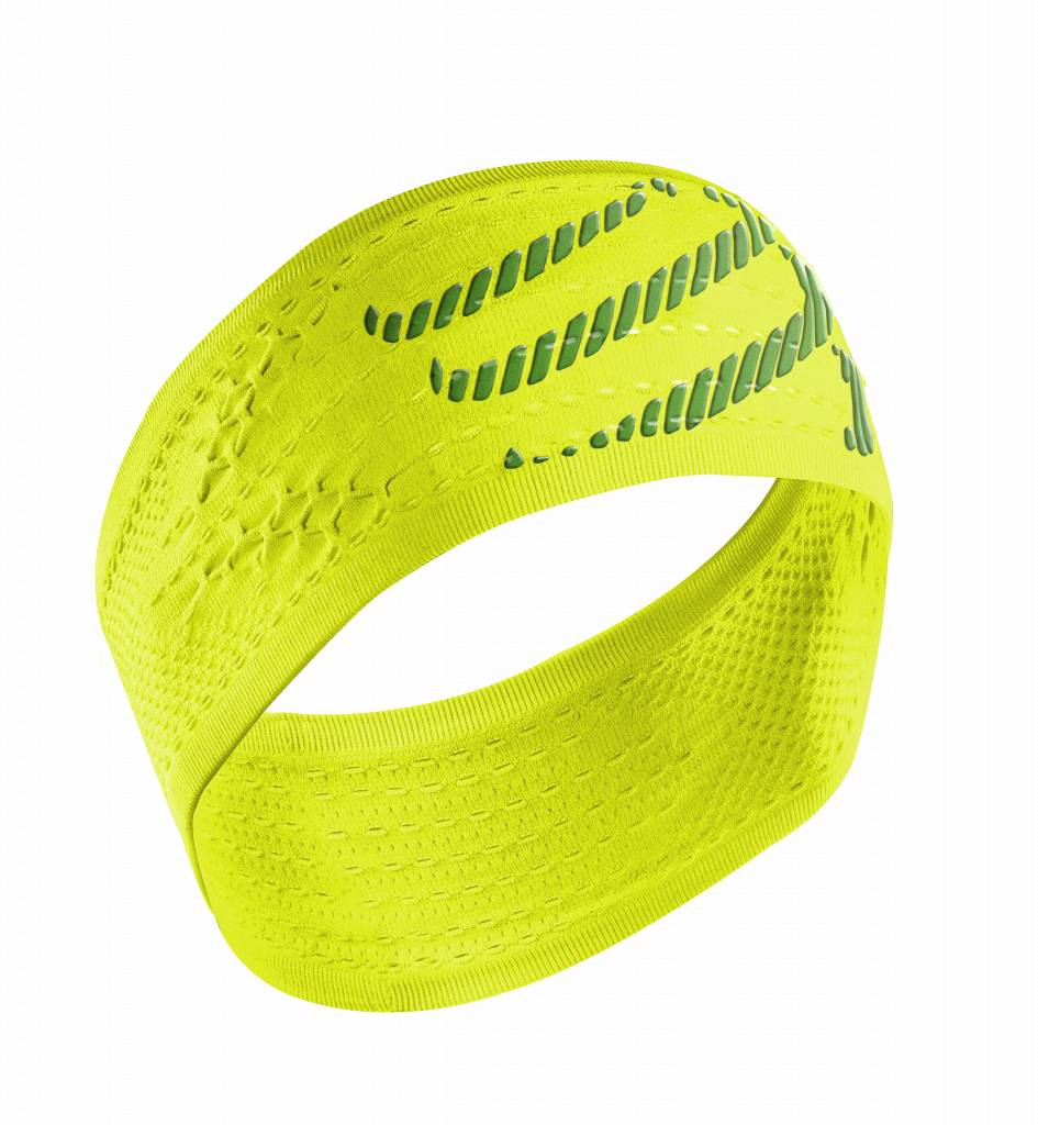 Compressport HeadBand On/Off - Fluo Yellow