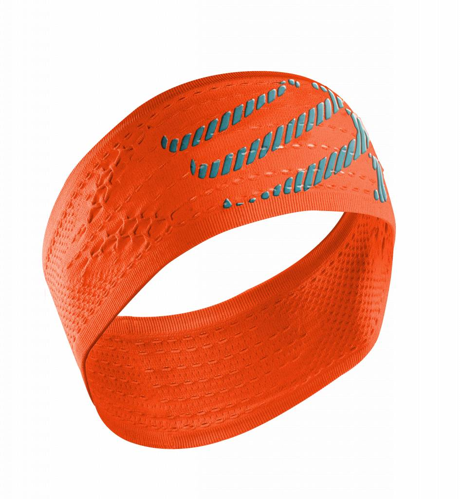 Compressport HeadBand On/Off - Fluo Orange