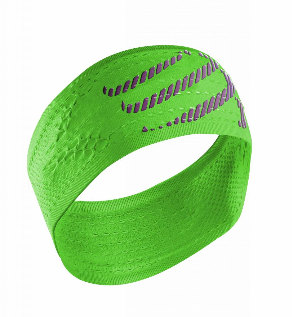 Compressport HeadBand On/Off - Fluo Green