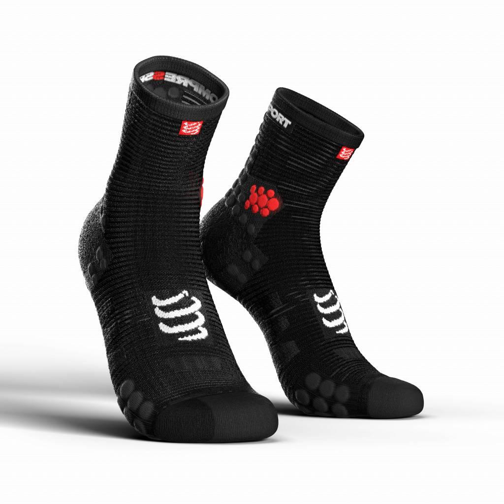 Compressport Pro Racing Socks v3.0 Run High - BLACK - T3