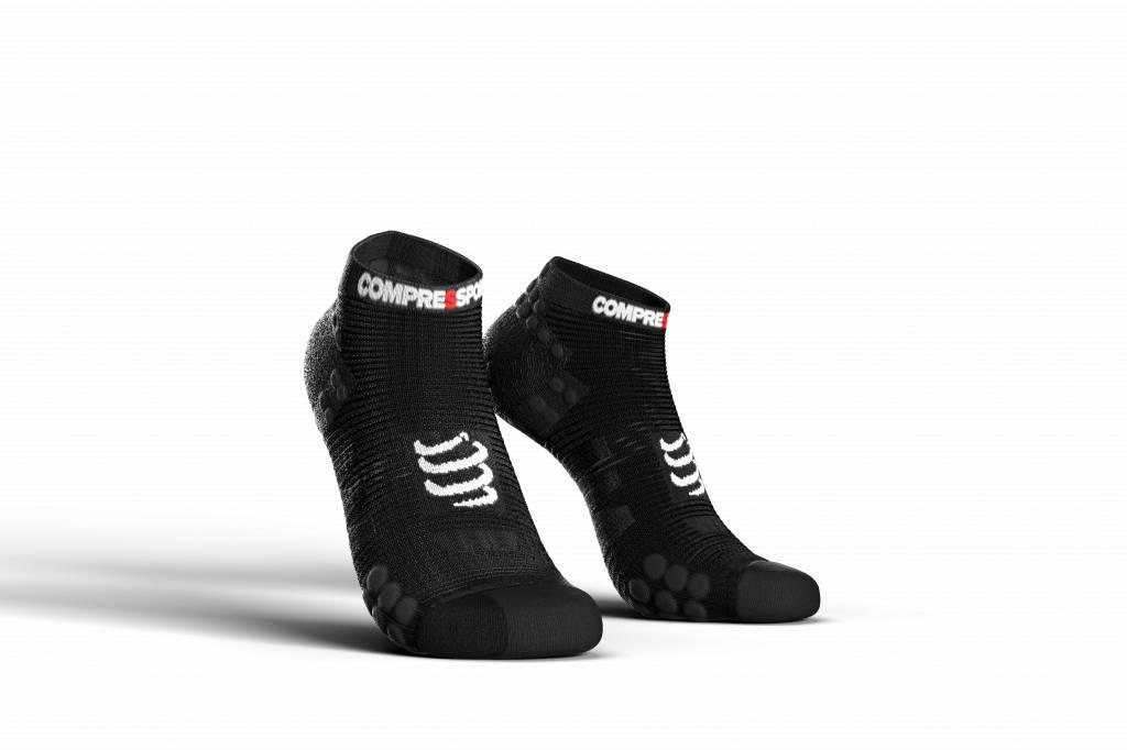 Compressport Pro Racing Socks v3.0 Run Low - BLACK - T1