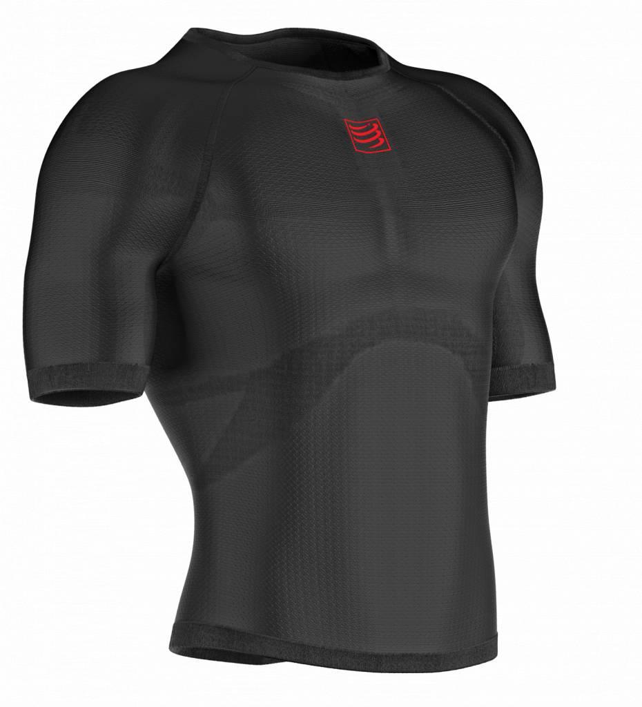 Compressport 3D Thermo UltraLight SS Shirt - BLACK - L/XL