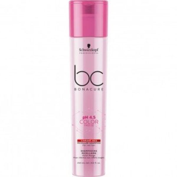 BC Bonacure Color Freeze Vibrant Red Micellar Shampoo 250ml