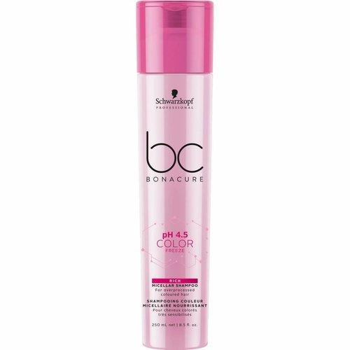 Schwarzkopf BC Bonacure Color Freeze Rich Micellar Shampoo 250ml
