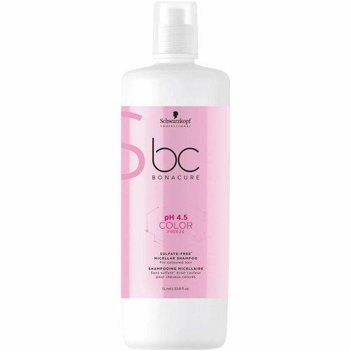 Schwarzkopf BC Bonacure Color Freeze Sulfate-Free Micellar Shampoo 1000ml