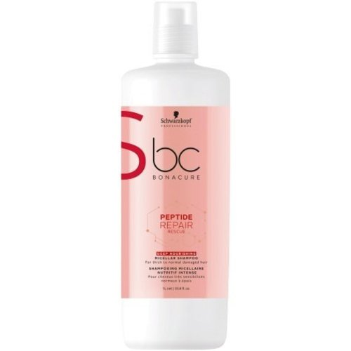 Schwarzkopf BC Bonacure Peptide Repair Rescue Deep Nourishing Micellar Shampoo 1000ml