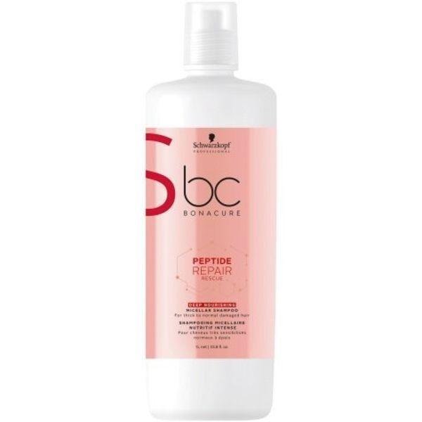 BC Bonacure Peptide Repair Rescue Deep Nourishing Micellar Shampoo 1000ml