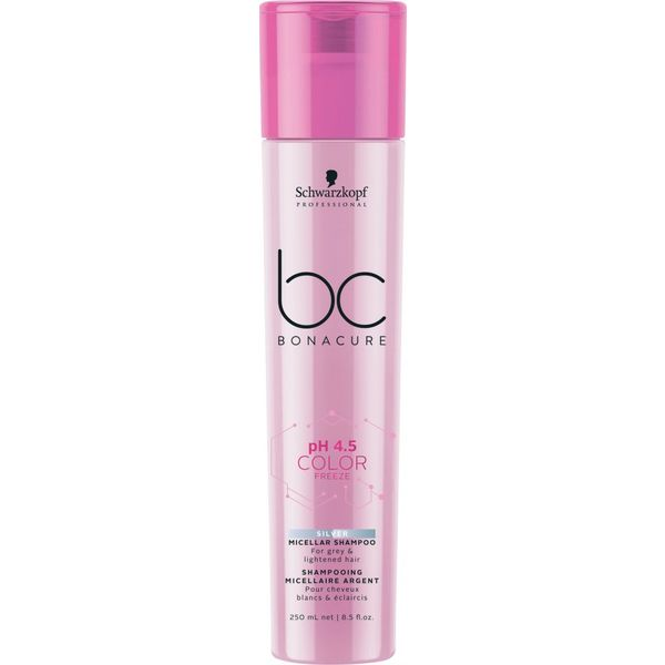 BC Bonacure Color Freeze Silver Micellar Shampoo 250ml