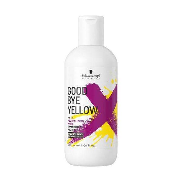 Goodbye Yellow Shampoo