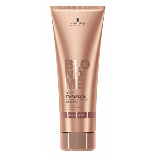 Schwarzkopf Blond Me Tone Enhancing Bonding Shampoo Warm Blondes