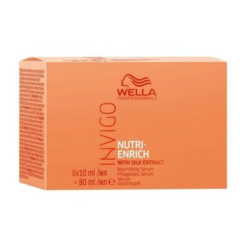 Wella Invigo Nutri Enrich Nourishing Serum 8x10ml