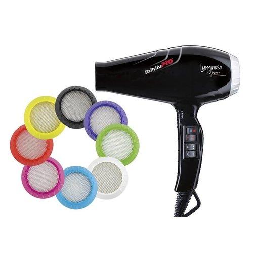 BaByliss Pro Luminoso Ionic Nero Haardroger BAB6350IBE