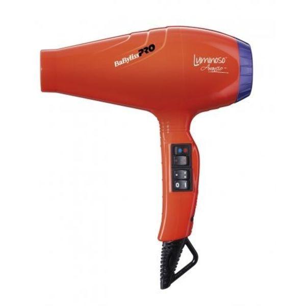 Luminoso Ionic Arancio Haardroger BAB6350IOE