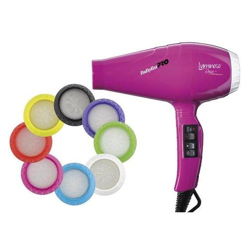 BaByliss Pro Luminoso Ionic Rosa Hair dryer BAB6350IFE