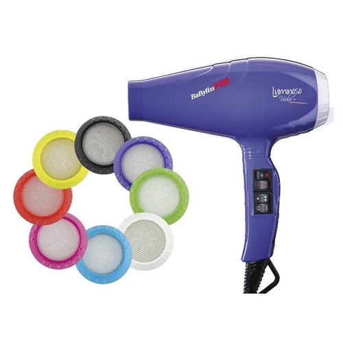 BaByliss Pro Luminoso Ionic Viola Hairdryer BAB6350IPE