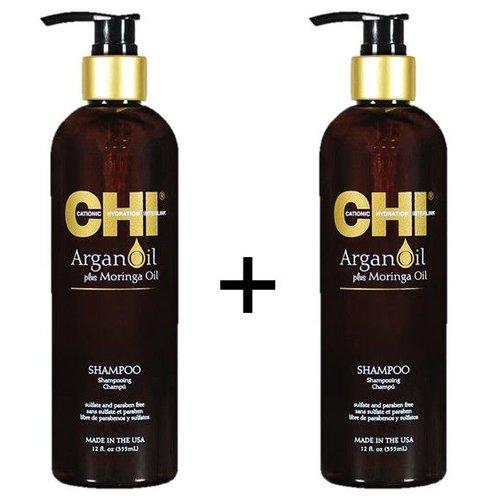 CHI Argan Oil Shampoo Duopack