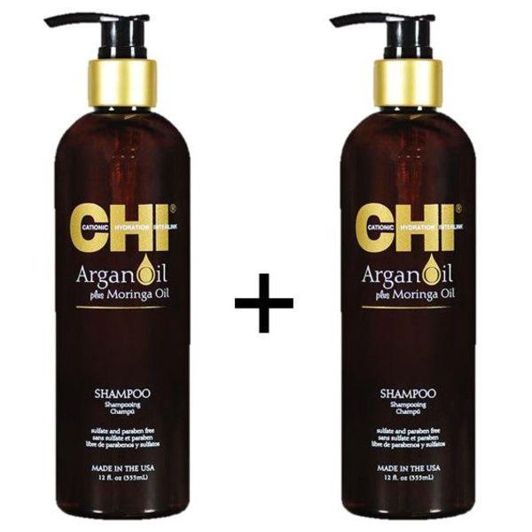 Argan Oil Shampoo Duopack