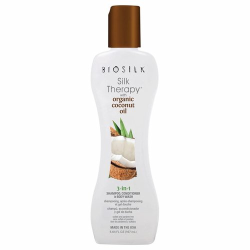 Biosilk Silk Therapy with Coconut Oil 3 in 1 167 ml