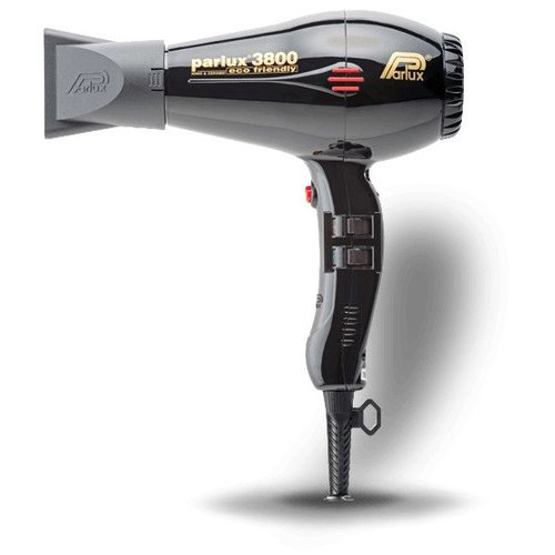 Parlux 3800 Eco Friendly Hairdryer Black