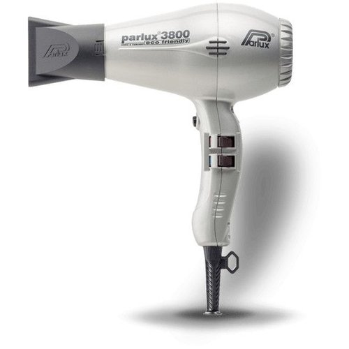 Parlux 3800 Eco Friendly Hairdryer Silver