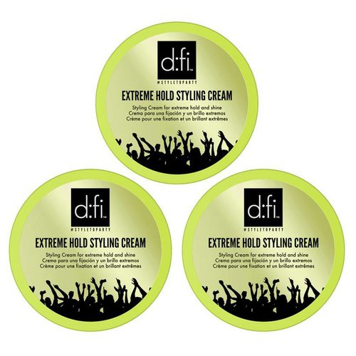 D:FI Extreme Hold Styling Cream 3 pieces