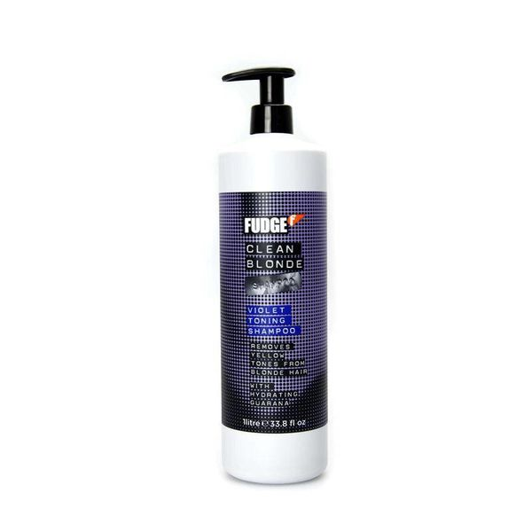 Clean Blonde Violet Toning Shampoo 1000ml