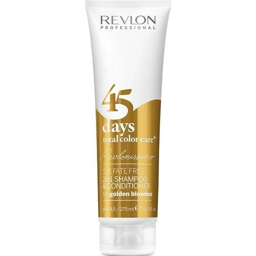 Revlon 45 Days 2 in 1 Shampoo & Conditioner Golden Blondes