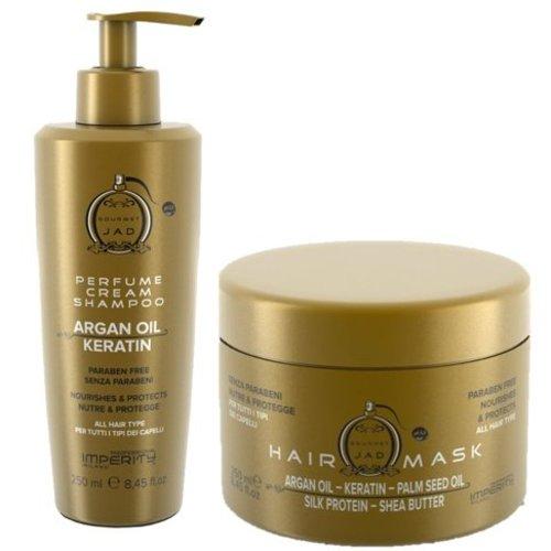 Imperity Gourmet Jad Perfume Cream Shampoo & Hair Mask