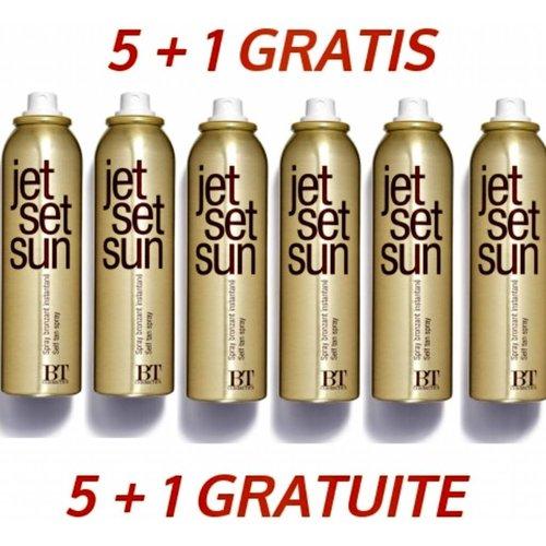 Jet Set Sun Tanning Spray 5 + 1 Gratis
