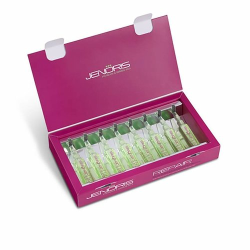 Jenoris Keratin Foaming Ampoules For Hair Recovery