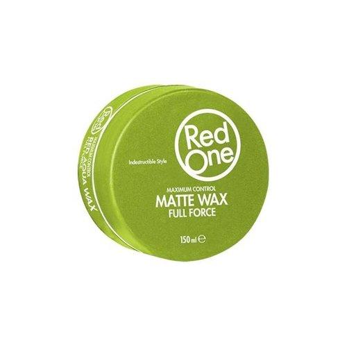 Red One Green Matt Hair Wax