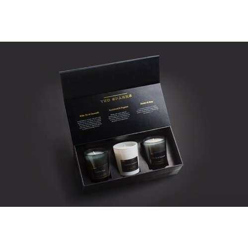 Ted Sparks Mini Candle Gift Set