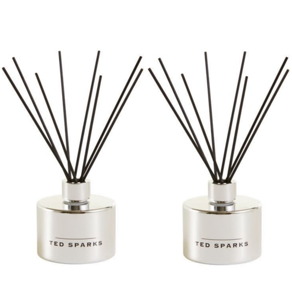 Silver Amber and Pepper Diffuser 2 Stuks