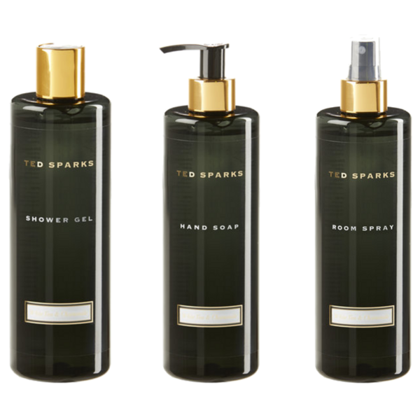 Bamboo and Peony Complete Set - Roomspray, Handsoap & Showergel