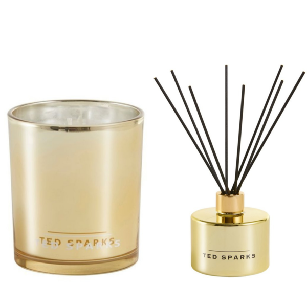 Gold Fig & Honey Diffuser and Geurkaars Combi Pack