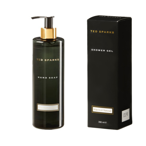 Ted Sparks Bamboo and Peony Handsoap & Shower Gel Combi Pack