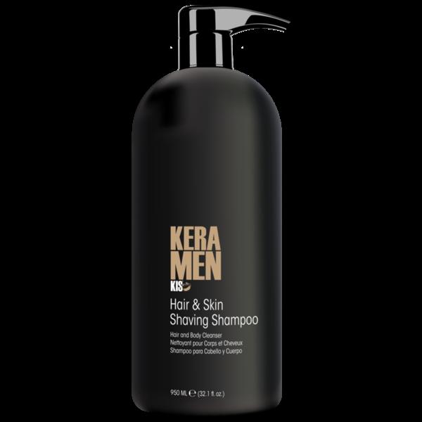 KeraMen Hair & Skin Shaving Shampoo 950ml