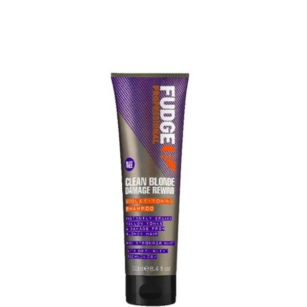 Clean Blonde Damage Rewind Violet-Toning Shampoo 250ml