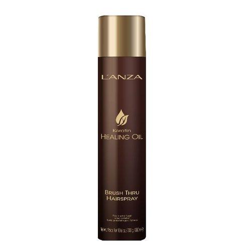 Lanza Keratin Healing Oil Brush Thru Hair Spray 350ml